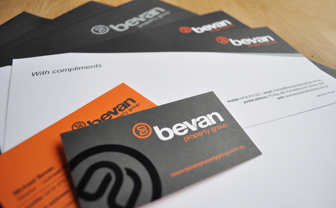 Bevan Property Group Stationery